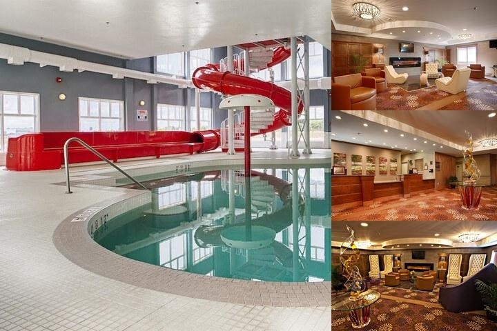 Best Western Plus Camrose Resort & Casino photo collage
