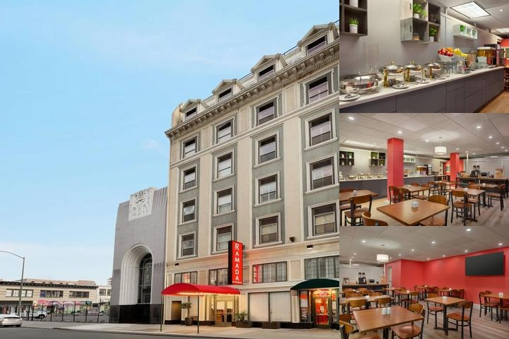 Clarion Downtown Oakland photo collage