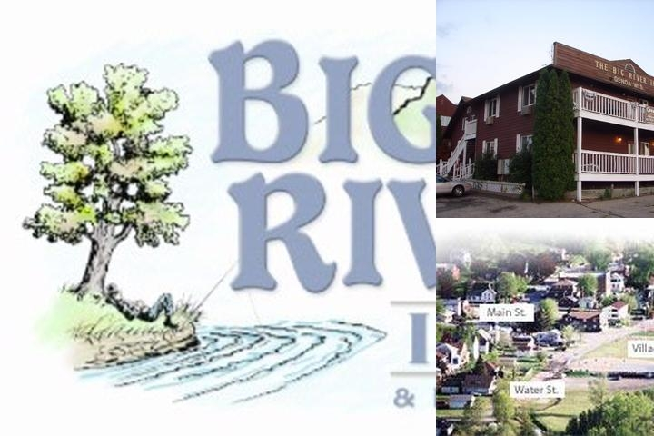 Big River Inn Hotel photo collage