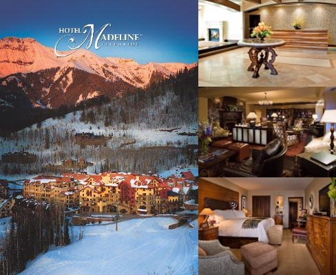 Hotel Madeline Telluride photo collage