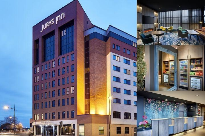 Jurys Inn photo collage