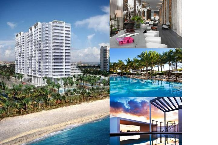 W South Beach photo collage
