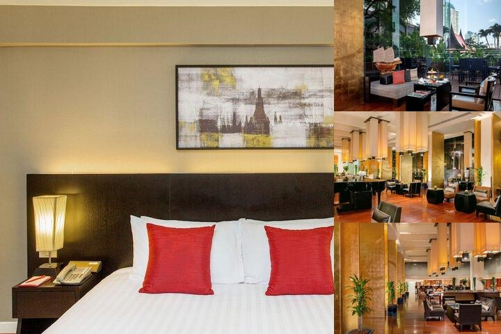 Ramada Plaza Bangkok Menam Riverside photo collage