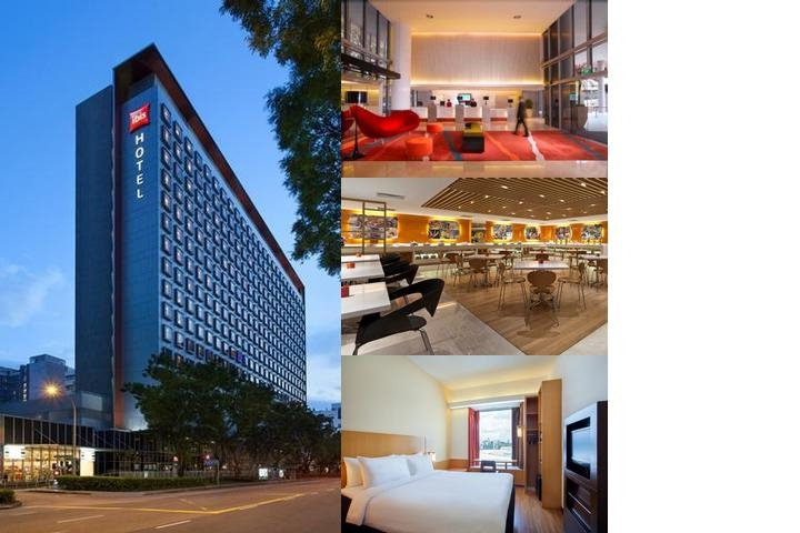 Ibis Singapore on Bencoolen photo collage