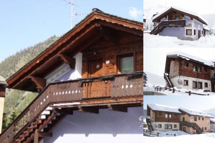 Livigno Chalets photo collage