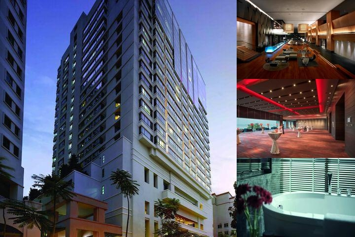 G Hotel Gurney photo collage