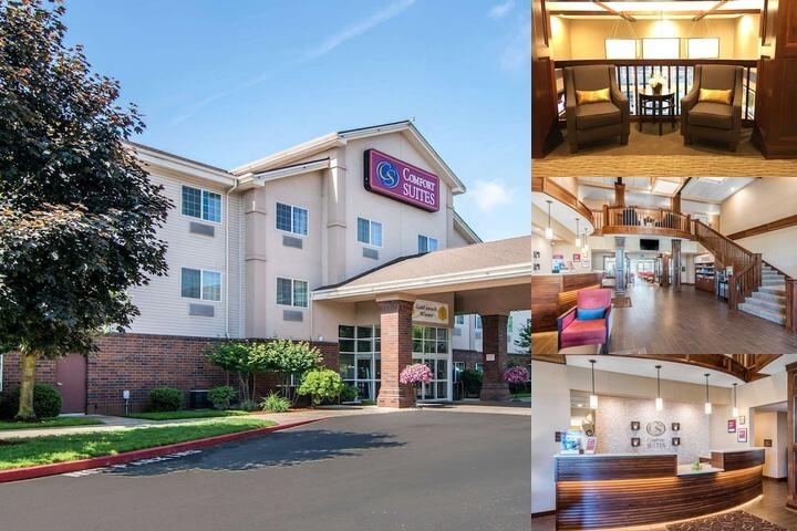Comfort Suites Linn County photo collage
