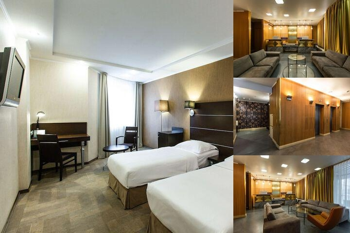 Park Inn Sadu Moscow photo collage