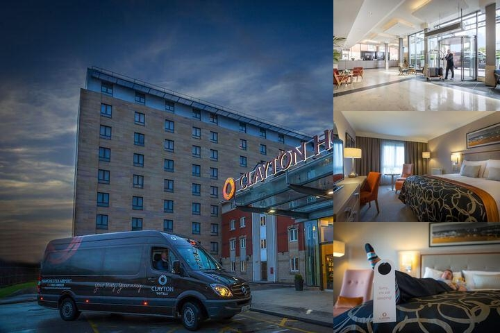 Clayton Hotel Manchester Airport photo collage