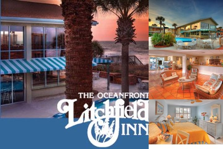 Oceanfront Litchfield Inn photo collage