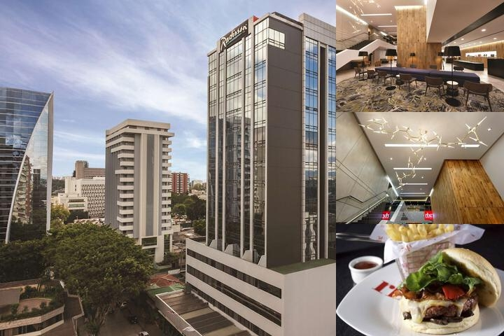 Radisson Hotel & Suites Guatemala City photo collage