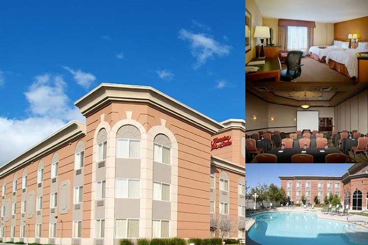 Hampton Inn & Suites Salt Lake City Airport by Hilton photo collage