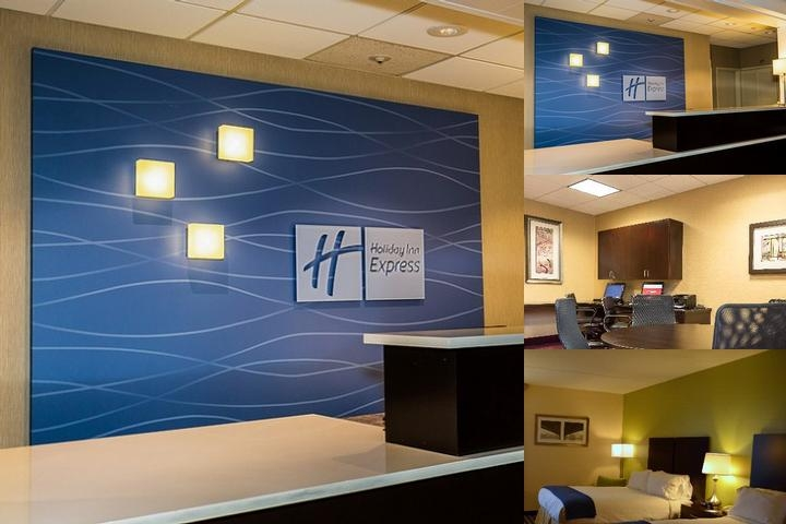 Holiday Inn Express Worcester photo collage