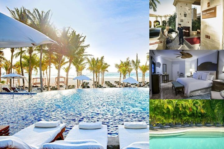Royal Hideaway Playacar All Inclusive photo collage