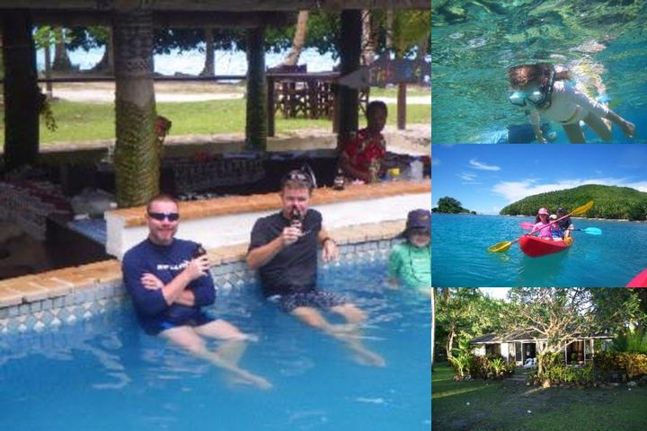 Naigani Island Resort photo collage