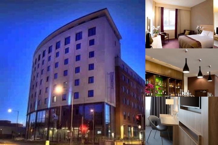 Jurys Inn Watford photo collage