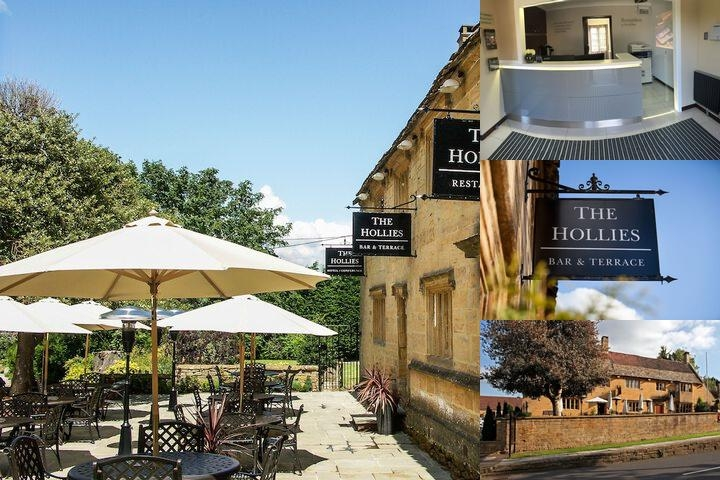 Hollies Hotel photo collage