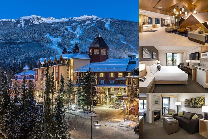 Delta Whistler Village Suites photo collage