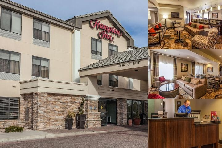 Hampton Inn Colorado Springs Airport photo collage