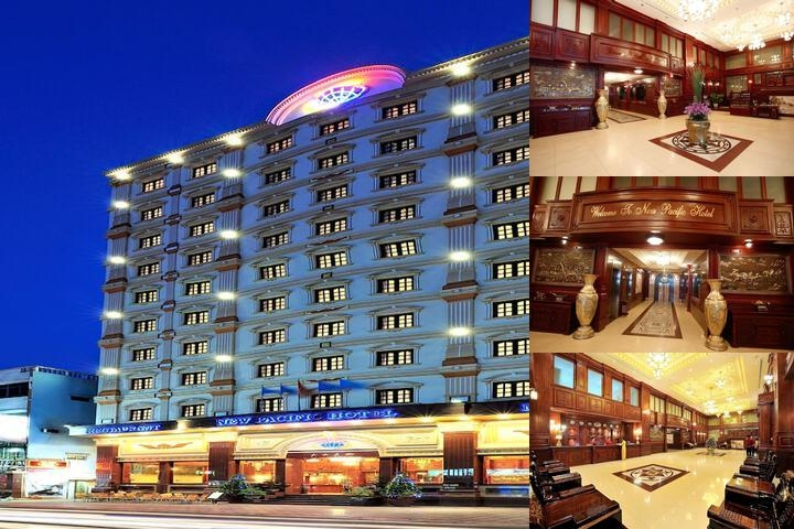 New Pacific Hotel photo collage