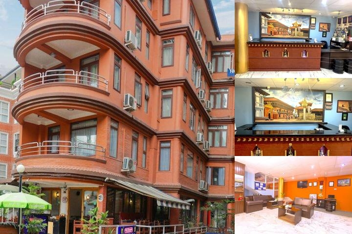 Hotel Access Nepal photo collage