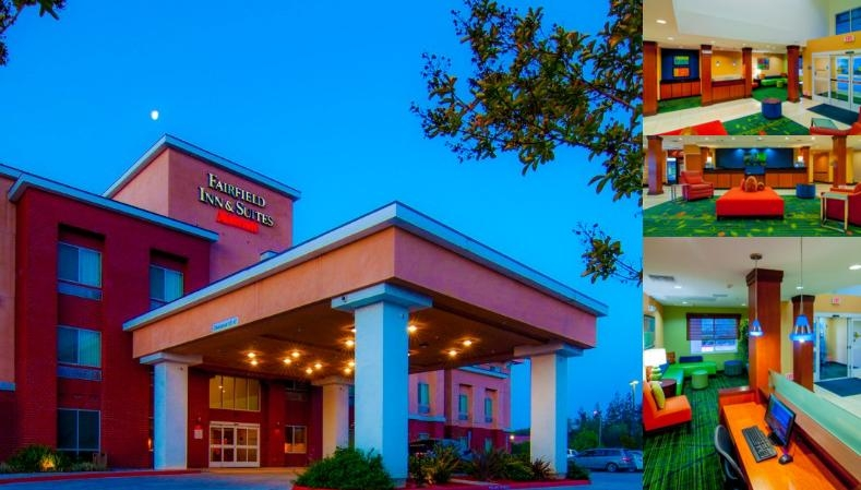 Fairfield Inn & Suites by Marriott Visalia Tulare photo collage