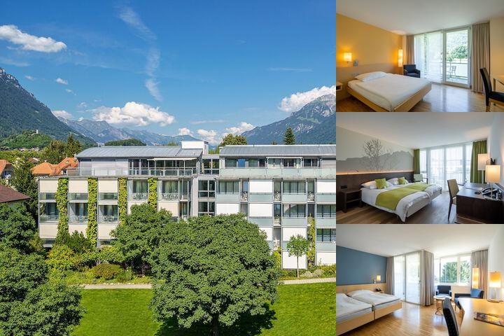 Hotel Artos Interlaken photo collage