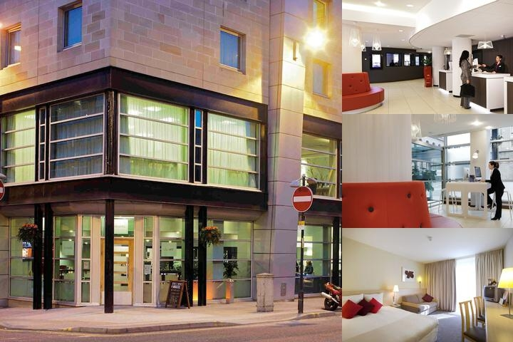 Novotel Glasgow Centre photo collage