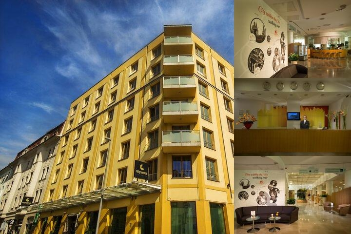 City Hotel photo collage
