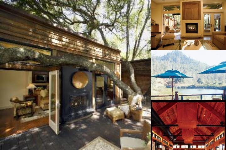 Calistoga Ranch photo collage