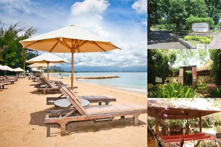 La Taverna Bali Hotel photo collage