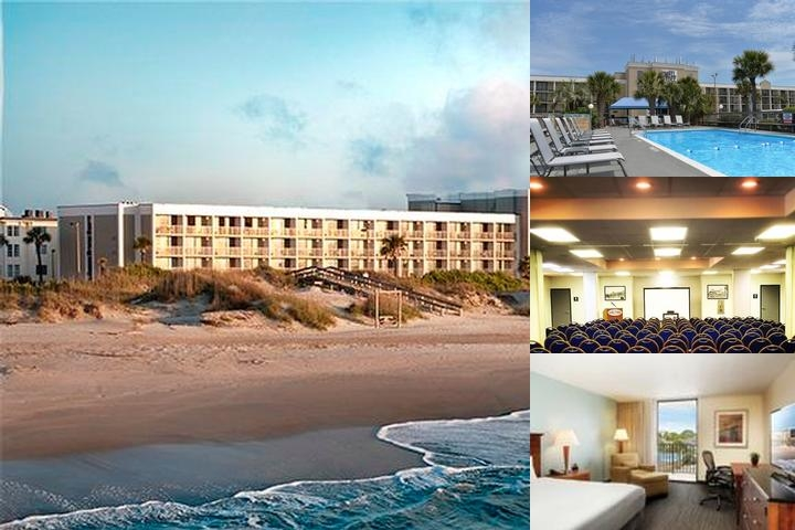 Ocean Plaza Beach Resort photo collage