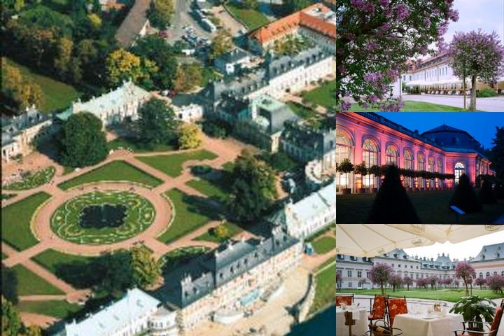 Schloss Hotel Dresden Pillnitz photo collage