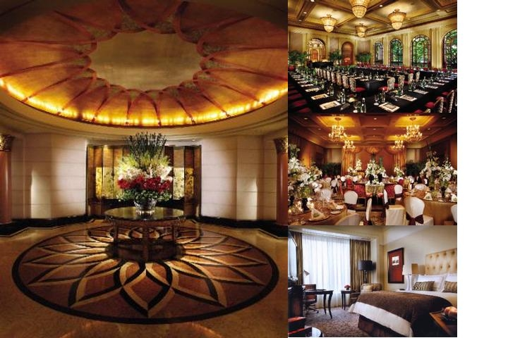 Four Seasons Hotel Singapore photo collage