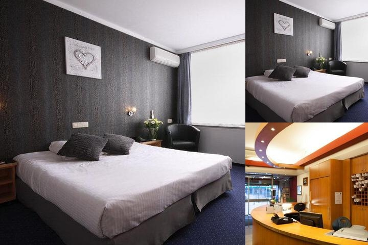 Best Western Leonardo Charleroi photo collage