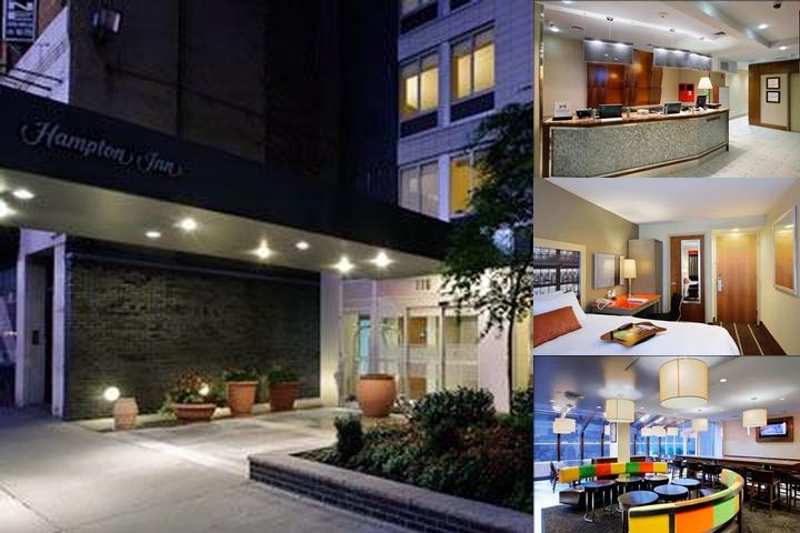 Hampton Inn Madison Square Garden Area Hotel photo collage