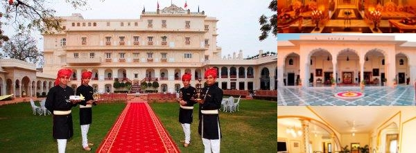 The Raj Palace photo collage