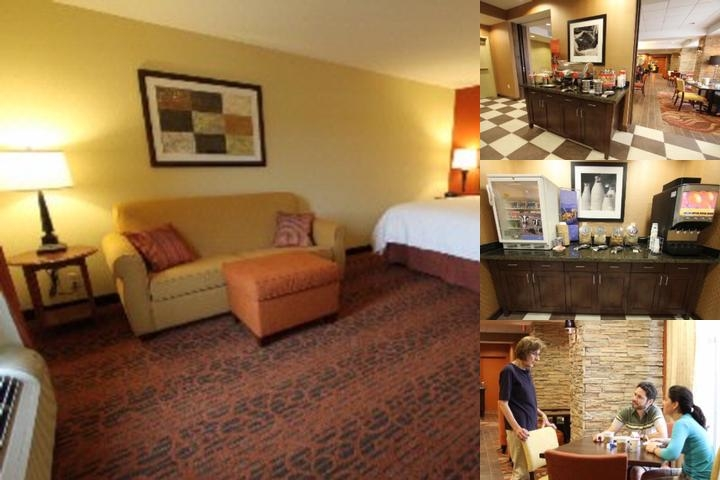 Hampton Inn Clinton photo collage