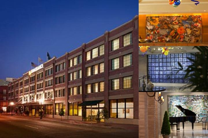 Renaissance Arts Hotel New Orleans photo collage