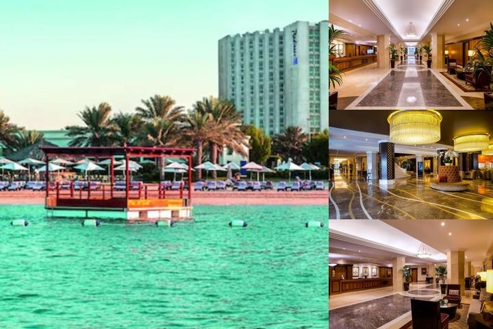 Hilton Abu Dhabi photo collage
