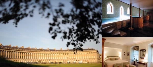 Royal Crescent Hotel photo collage