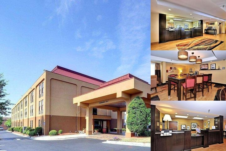 Hampton Inn Eden photo collage