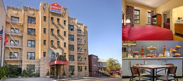 Ramada Jersey City photo collage