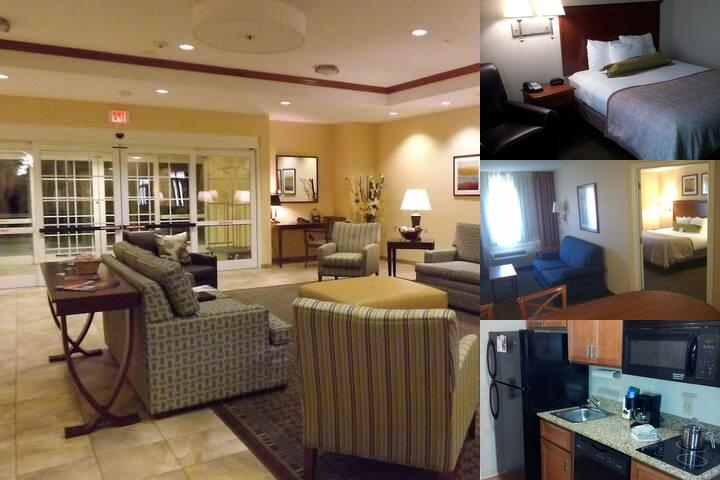 Candlewood Suites Fredericksburg photo collage