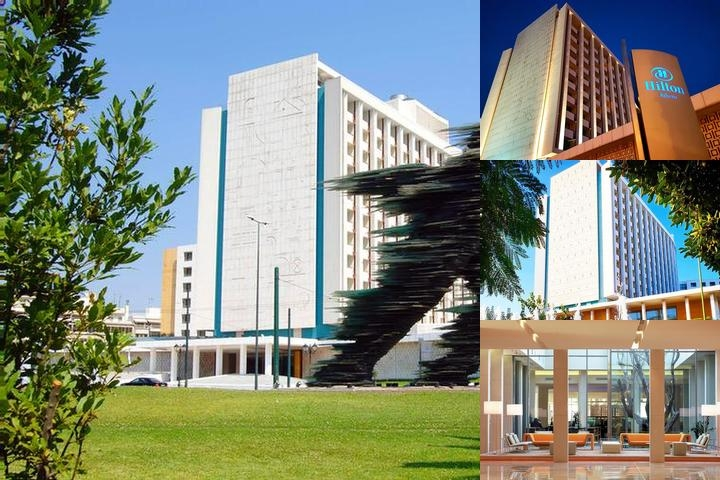 Hilton Athens photo collage