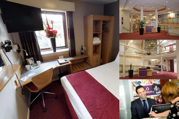 Pendulum Hotel photo collage