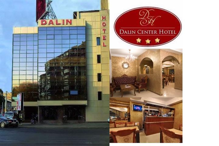 Dalin Center Hotel photo collage
