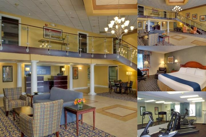 Holiday Inn Express St. Charles photo collage