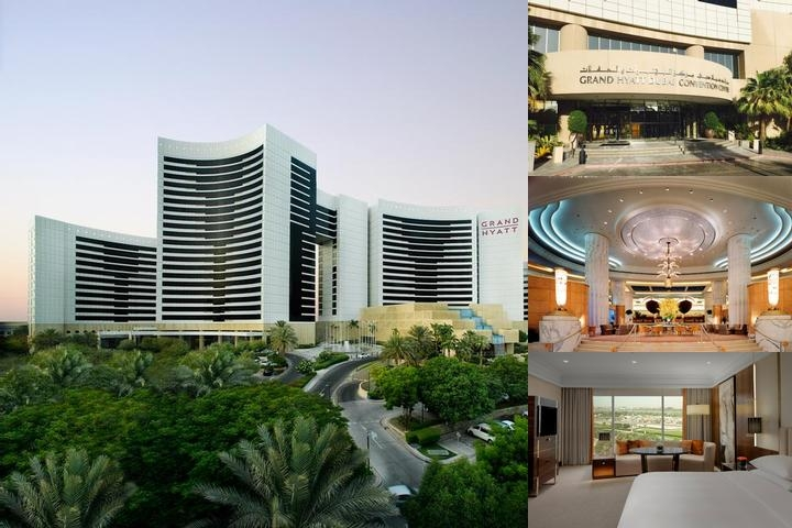 Grand Hyatt Dubai photo collage