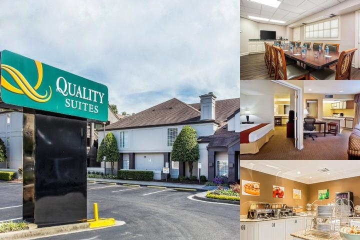 Quality Suites Buckhead Village photo collage